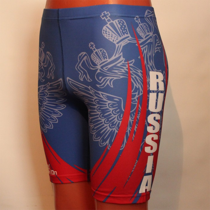 "Cycling shorts ""RUSSIA"""