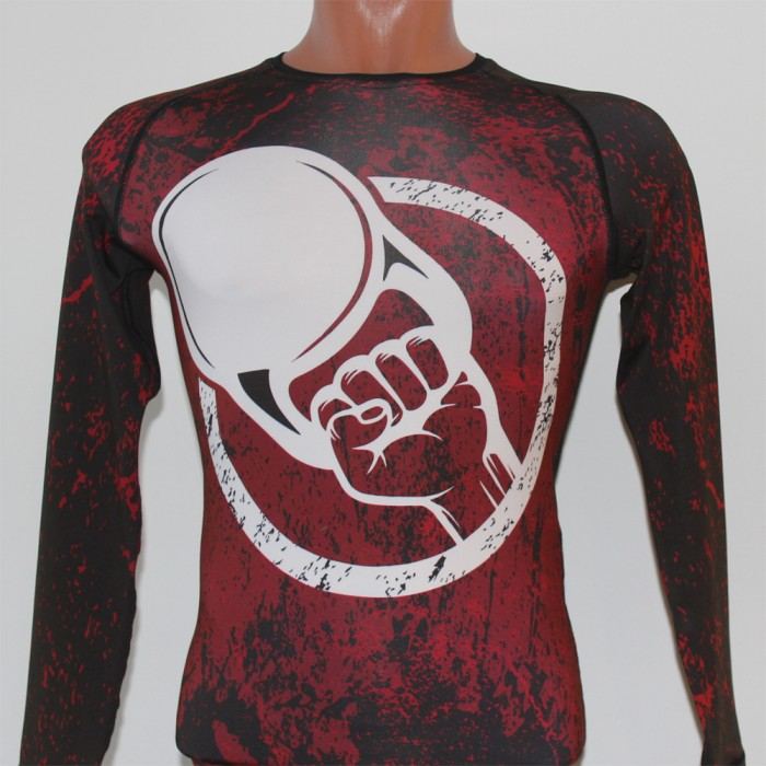 "Rash guard ""I'm kettlebell lifter"""