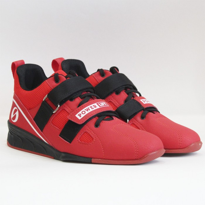 Weightlifting shoes SABO Powerlift. RED